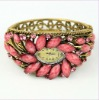 Indian Crystal Metal Watch Bracelet Bangle