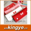 Sweet and butterfly clasp type leather pen bag