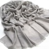 Newest Smoky gray Pretty Hot design Smoky gray CyanGraceful Fashion Polyester Scarves