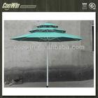 three layers metal outdoor umbrella