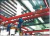 flexibel single girde suspension crane