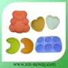 food grade silicone cake mold with various shapes