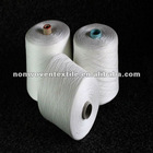 20s/1 wholesale textile paper tube or coned 100% polyester spun yarn