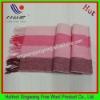 Yarn dye scarf