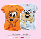 100% cotton new childred t-shirt