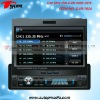 DVD-7024 7inch in dash car dvd player with detachable front panel