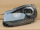 Black Golf 6 R line bi-xenon headlamp with LED