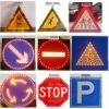 hornen solar aluminium road sign