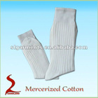 100%Mercerized cotton mens dress socks cotton socks