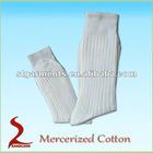 100%Mercerized cotton mens dress socks cotton socks