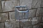 toilet paper holder shelf, paper magazine display shelf ,stainless steel toilet shelf ,single toilet glass shelf