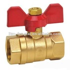 brass Tee handle ball valve