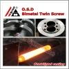 Tungsten bimetallic Weber 88 parallel twin screw and cylinder