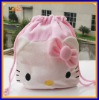 wholesale qualified girls drawstring bag