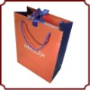 Promotional art paper bag with handle