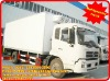 dongfeng tianjing 4*2 refrigerator van truck