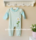 mom and bab 2012 spring baby clothing 100% cotton embroider sleep suits