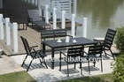 HJ PS Plastic Outdoor Chair and Table
