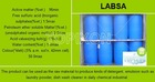 hot sale surfactant LABSA detergent raw materials