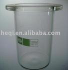 Reaction flask barrel-shaped