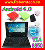 New cheap 7 inch Android 4.0 WM8850 mini laptop