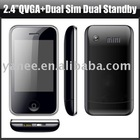 Cellular Phone with Dual Sim Card and 2.4 inch Screen,KA08
