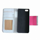 Hot sale PU leather case for iphone5 OEM