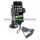 iPhone 4 Automobile Mount with 12v Car Charger