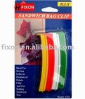 Sandwich holder bag clip