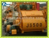 JS500 double shafts electrical cement mixer