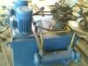 MXJ 350 automatic hydraulic pressure aluminum profile cutting machine.