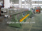 waste plastic pp film pelletizing line machine