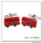 Double Decker Red Bus Cufflinks