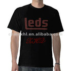 2012 Fashion men's Polo T-shirt 100% cotton printed t shirt ock music band led t-shirts
