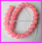 Y990 fashion style new hot pink gemstone beads