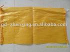 Plastic round silk mesh bag