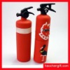 Fire extinguisher shape rubber USB cover