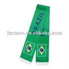 Brazil polyester football scarf