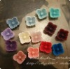 2012Newest Resin Flower Cabochon 10mm