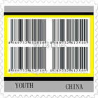 adhesive art paper bar code label