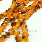 crystal rondelle beads