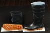 PVC safety boot with steel toe cap