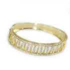 Plating 18K Gold Bangle Indian Design S005689