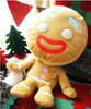 soft cute biscuit man plush toy for promotional gift