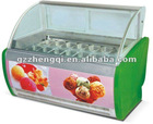 ice cream display cabinet