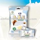 Halal food low sugar ABC Original Fresh Milk powder chewy soft Candy 150g