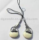 Bag Zinc Alloy Mobile Charm