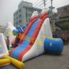 2012 inflatable water floating slide N slip