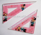 plastic ruler,school ruler,plastic set square