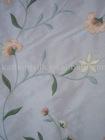 Yarn-dyed douppion embroidery silk fabric-147